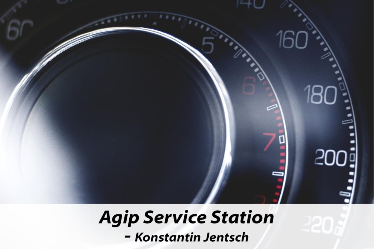 Agip-Service-Station Westhafen